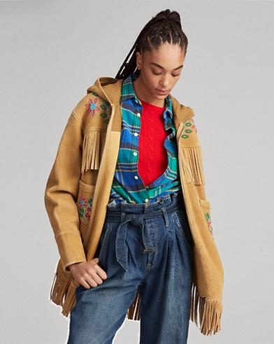 Embroidered Deerskin Jacket