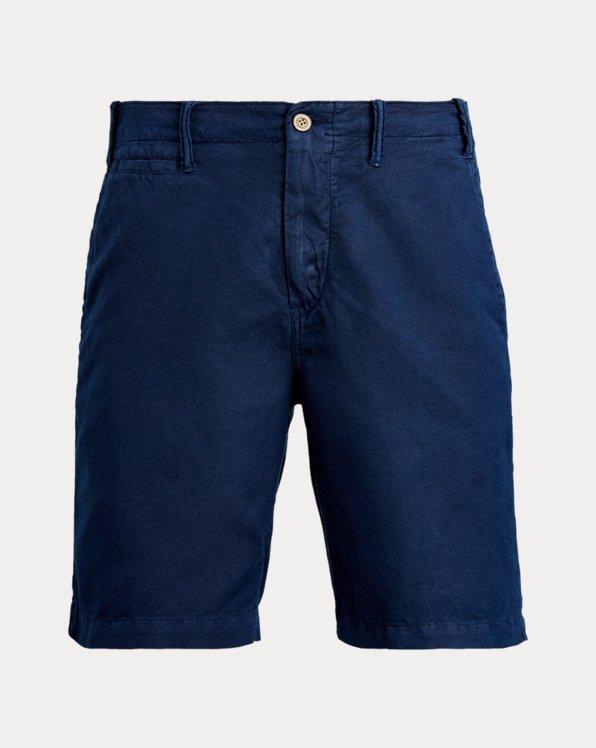 Short classique en coton