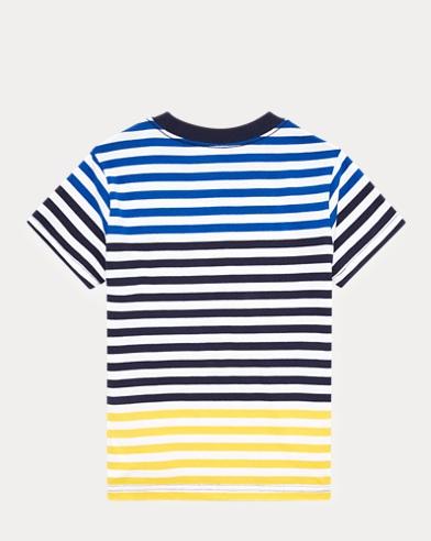 6390205d145 Striped Cotton Jersey Tee. Boys ...