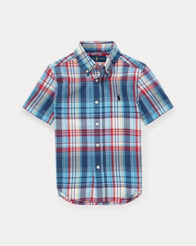 3a58061fc Boys' Casual Button Down Shirts Sizes 2-20 | Ralph Lauren