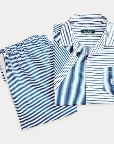 Striped Cotton Sleep Set