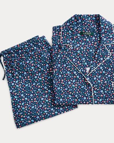 Floral Cotton Sleep Short Set