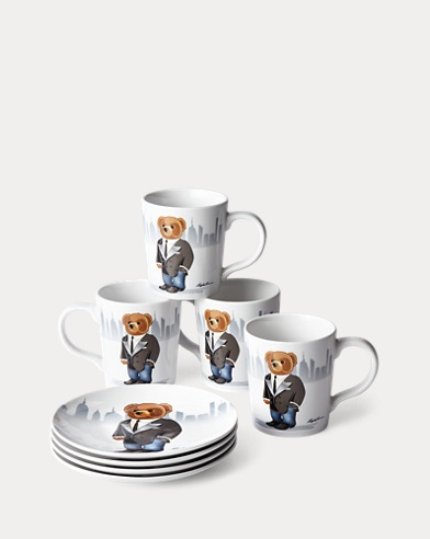 Haven Bear Dinnerware Collection