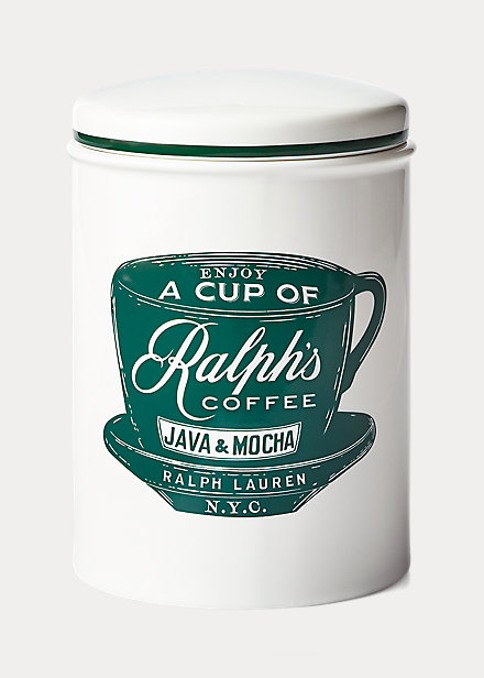 Polo RalphLauren Ralph's Coffee Canister