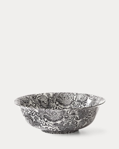 Faded Peony Fruit Bowl
