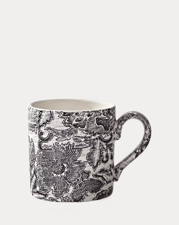 Faded Peony Mug