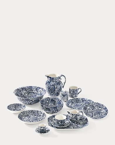 Burleigh Faded Peony Dinnerware Collection