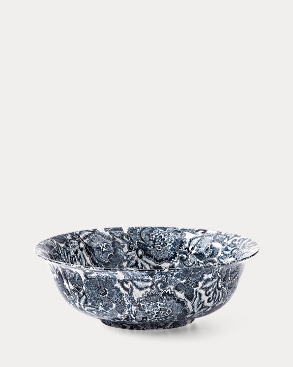 Faded Peony Fruit Bowl