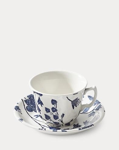 Garden Vine Teacup & Saucer