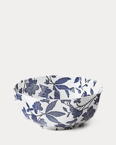 Garden Vine Octagonal Bowl