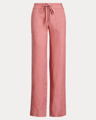 Linen Wide-Leg Trouser