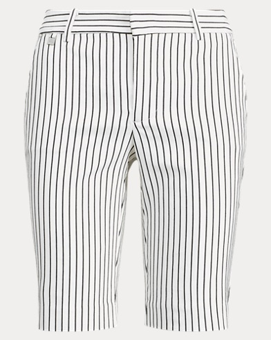 Striped Stretch Cotton Short