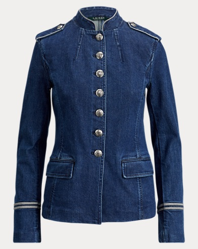 Denim Officer's Jacket