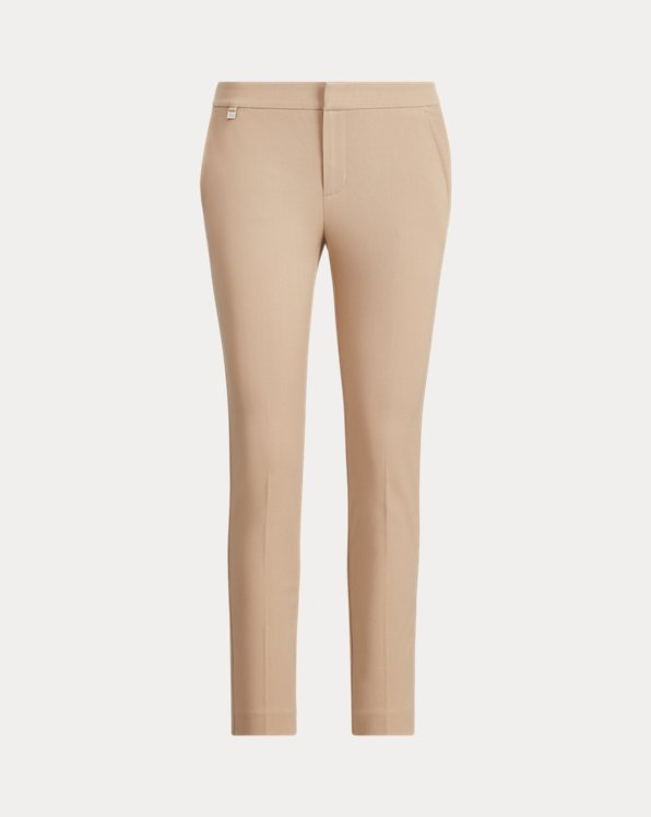 Cotton Twill Skinny Pant