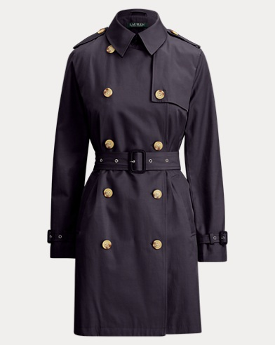 Trench-coat ceinturé
