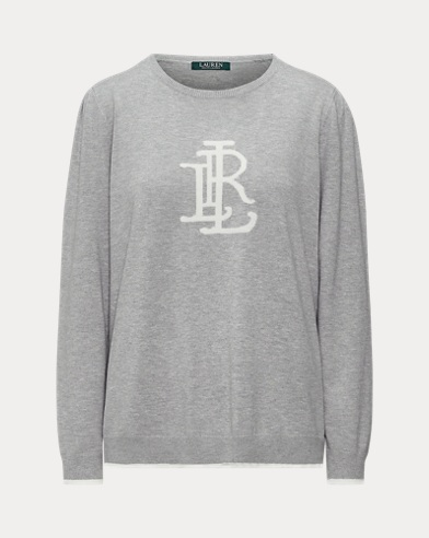 Monogram Cotton-Blend Jumper