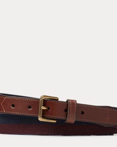 Striped Stretch Belt