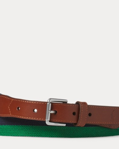 Striped Stretch Belt