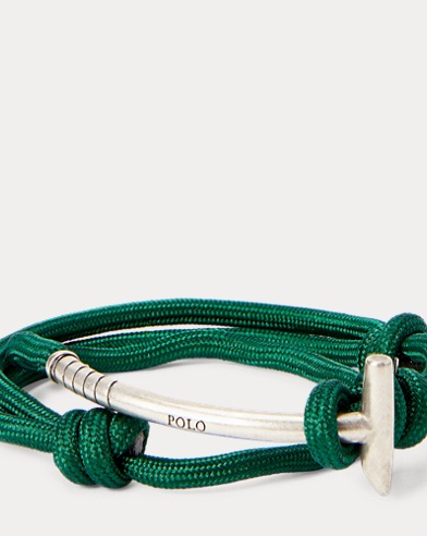 Brass Mallet Wrap Bracelet