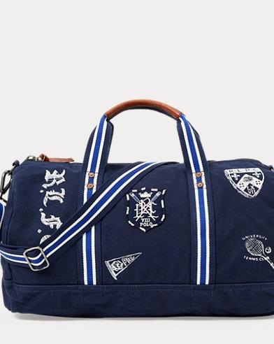 e4fd8e673d8a Canvas Collegiate Club Duffel. Polo Ralph Lauren