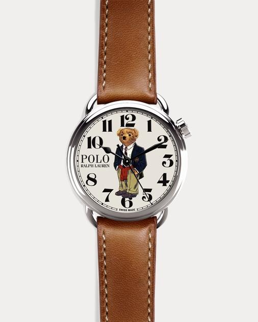 Ralph Lauren Polo Preppy Bear Watch 1 7dbe080094f4c