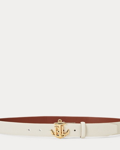 Anchor Leather Belt