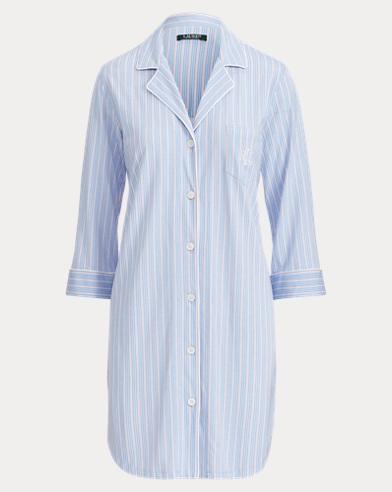 Chemise de nuit en coton mélangé