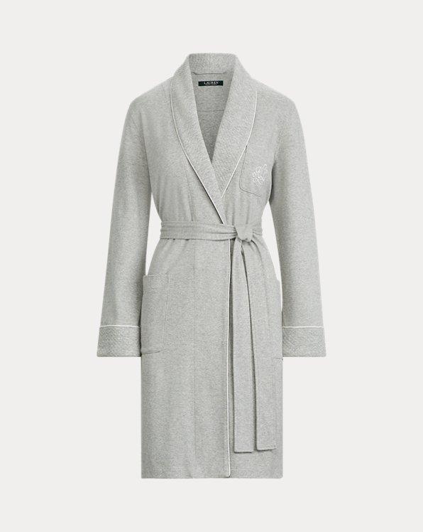 Cotton Shawl-Collar Robe