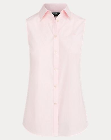 No-Iron Sleeveless Shirt
