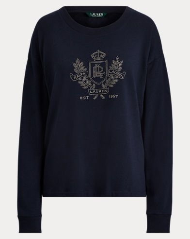 Logo French Terry Sweatshirt