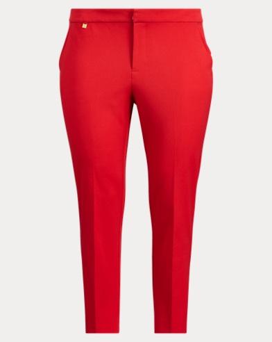 Pantaloni skinny in twill di cotone
