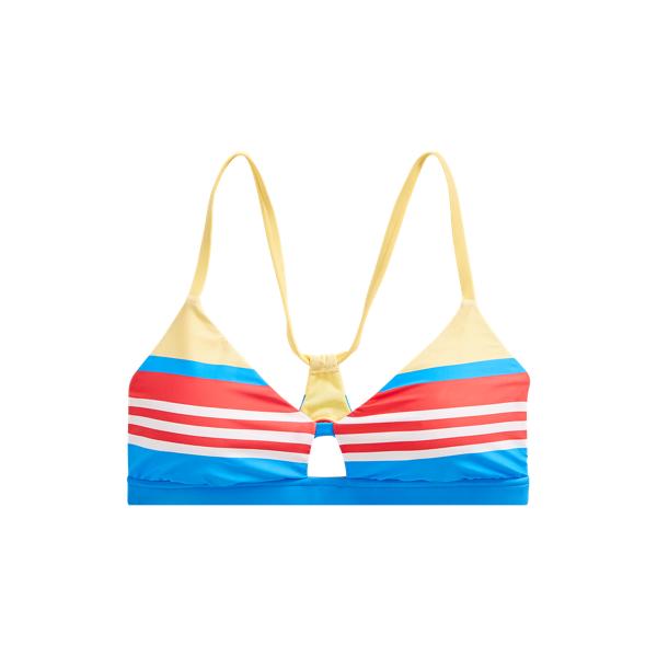 Polo Ralph Lauren Striped Racerback Bikini Top