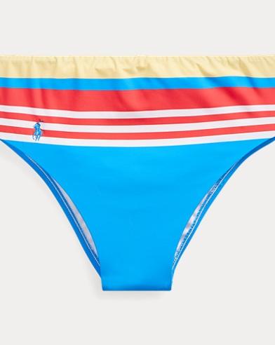 d0e631e4ce Print High-Waist Bikini Bottom