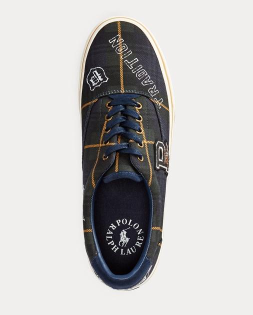 Thorton Tartan Canvas Sneaker