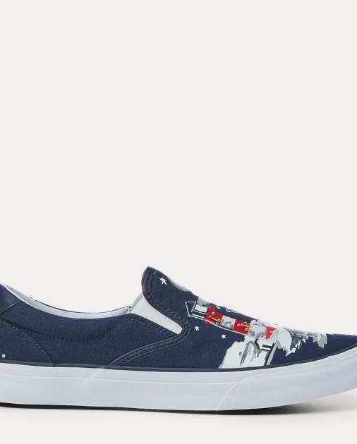 33d08e502c2 Polo Ralph Lauren Thompson Bear Graphic Sneaker 1