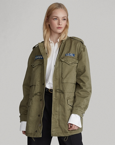 f88367bcf079f Twill Military Jacket