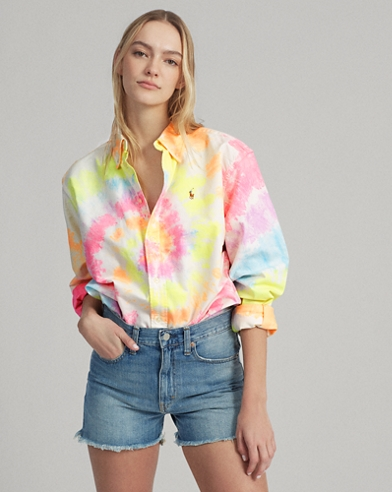 Big Fit Tie-Dye Shirt