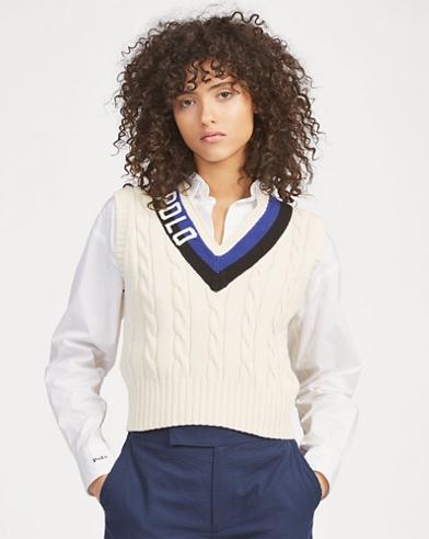 Polo Cotton Cricket Vest