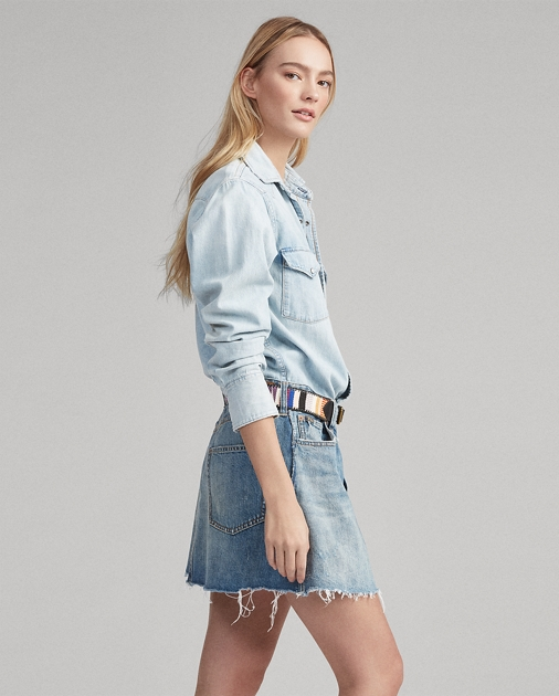 Polo Ralph Lauren Western Denim Dress 1