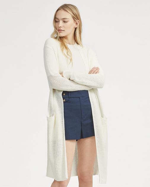Polo Ralph Lauren Ribbed Linen Cardigan 1