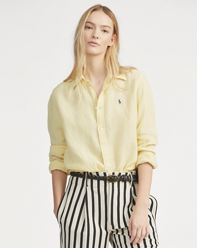 Relaxed Fit Linen Shirt