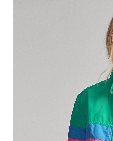 Poplin Windbreaker Jacket