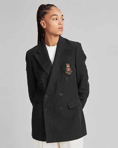 Crest Double-Breasted Blazer