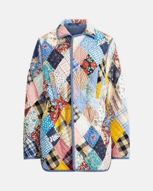 85737aeb0 Polo Ralph Lauren Quilt Patchwork Jacket 2