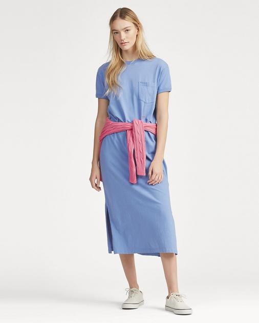 Polo Ralph Lauren Cotton T-Shirt Dress 1
