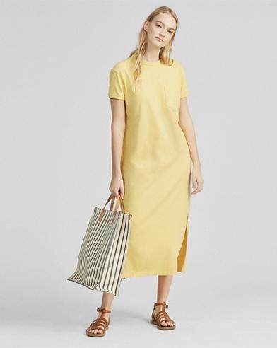 T-Shirt-Kleid aus Baumwolle