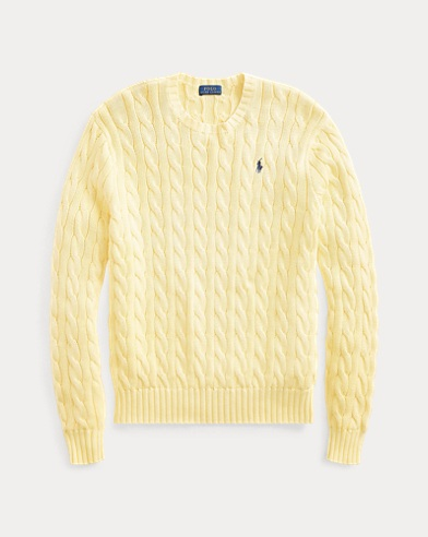 812d7a9b55740 Cable Cotton Sweater. Polo Ralph Lauren