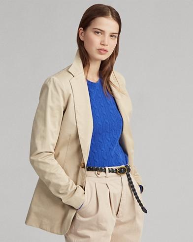 54898d34b99ed Women's Blazers - Cotton, Wool, & More | Ralph Lauren