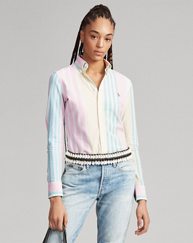 f822d9697 Women's Blouses, Button Down Shirts, & Flannels | Ralph Lauren