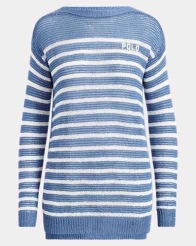 e96d400566 Polo Striped Linen Sweater. Take ...